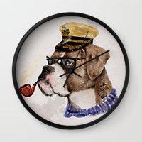 Mr.Boxer Wall Clock