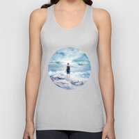 Waiting at the water's edge Unisex Tank Top