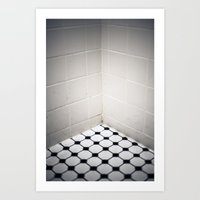 Dirty Shower Art Print