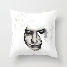 detail insomnia Throw Pillow