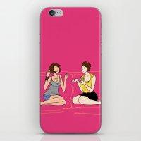 girl talk iPhone & iPod Skin