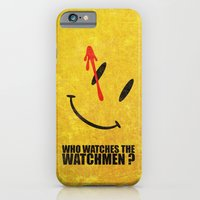 iPhone & iPod Case featuring The Watchmen (Super Minimalist series) by Itomi Bhaa