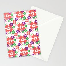 lucky flower multi Stationery Cards