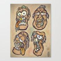 FOURHEADS ARE BETTER THA… Canvas Print