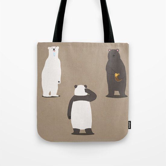 Black or White Tote Bag
