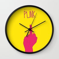 Music Signs : Punk (3/3) Wall Clock