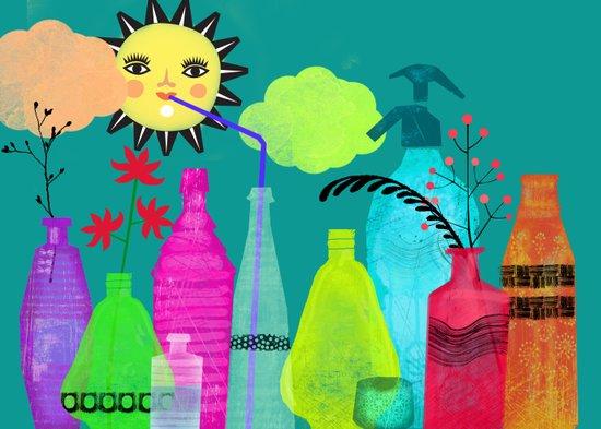 bottles & flasks Art Print