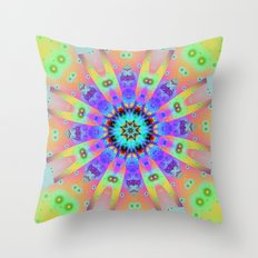Summer happiness Throw Pillow