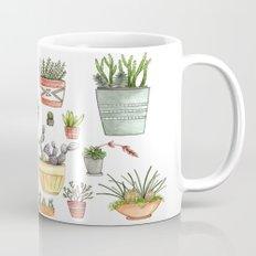 Potted Succulents Mug