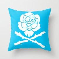 Dronio Logo 02 Throw Pillow