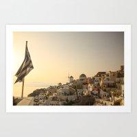 The Greek Feeling Art Print