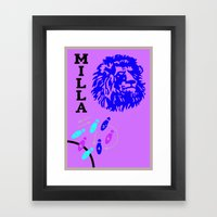 Roger Milla - Old Is Gold Framed Art Print