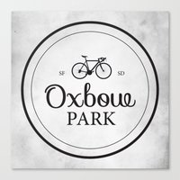 Oxbow Park Canvas Print