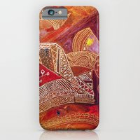 iPhone & iPod Case featuring golden maze by Marianna Tankelevich