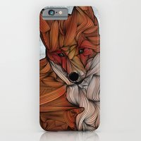 fox iPhone & iPod Cases featuring Red Fox by Ben Geiger