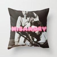 ♡ MISANDRY ♡ Throw Pillow
