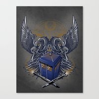 Timelord and Proud Canvas Print
