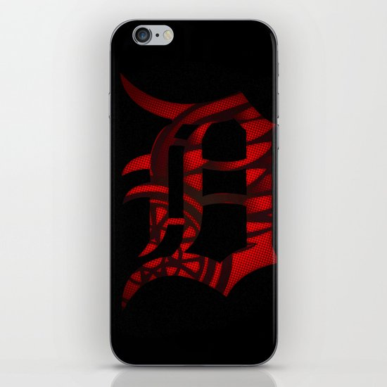 Detroit, April In the D, Redwings, Tigers iPhone & iPod Skin