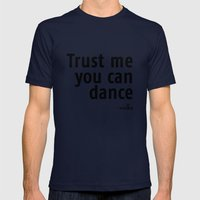 Trust Me! Mens Fitted Tee Navy SMALL