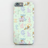 Teddy Bear Alphabet ABC'… iPhone 6 Slim Case