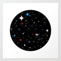 Universe Art Print