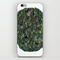 Little Forest Town iPhone & iPod Skin