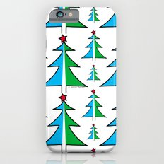 Christmas Tree Pattern Slim Case iPhone 6s