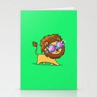 Fabulous Lion Stationery Cards