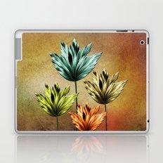Four Fractal Flowers Laptop & iPad Skin