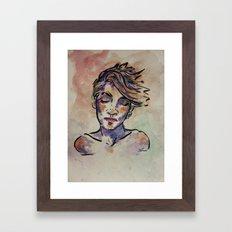 Elly Framed Art Print