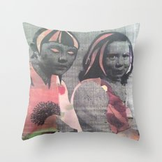 JUJU Throw Pillow