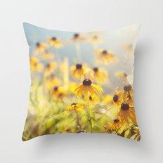 summer susans Throw Pillow