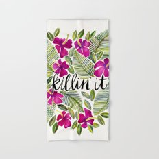 Killin' It – Tropical Pink Hand & Bath Towel