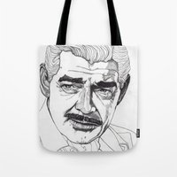 Clark Gable Tote Bag