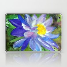 Blue Violet Lotus flower Laptop & iPad Skin