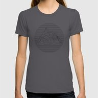 T-shirt featuring Mountain Lines by Orce Vasilev