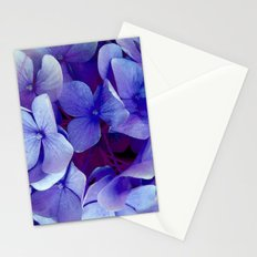 Purple Flowers Stationery Cards