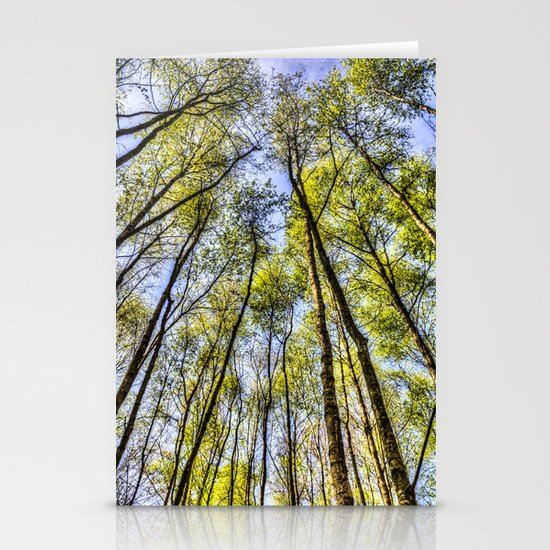 Peace of the Forest Stationery Card