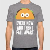 Taco Eclipse Of The Hear… Mens Fitted Tee Tri-Grey SMALL