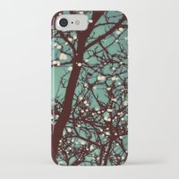 lights iPhone & iPod Cases featuring Night Lights by elle moss