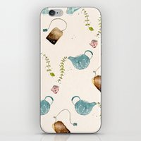 TEA PARTY PATTERN iPhone & iPod Skin