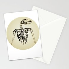 Skeleton Drawing: Flying Fox Stationery Cards