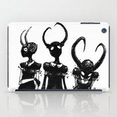3 horned girls iPad Case