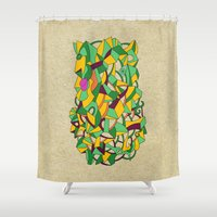 - Before Mutation - Shower Curtain