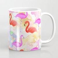 Red Hot Flamingo  Mug