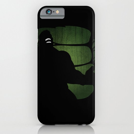 SuperHeroes Shadows : Hulk iPhone & iPod Case