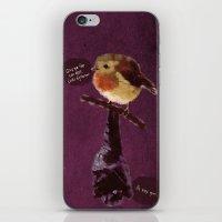 Bat and Robin iPhone & iPod Skin
