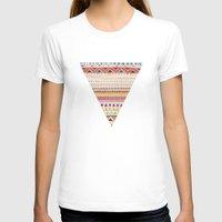 patterns T-shirts featuring Pattern by Sandra Dieckmann