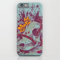 iPhone & iPod Case featuring Death Blooms by Clinton Jacobs