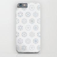 Geocircles (Blue) iPhone 6 Slim Case
